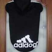 """Черный пуловер """"Adidog"""" (7L)"""