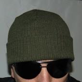 Стильная фирменная шапочка шапка милитари  Arma (Арма).м-л-хл .