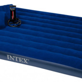 Набор Надувной матрас Intex 68765 размер 203*152*22