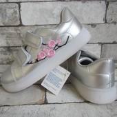 Распродажа серебристые кроссовки 32-20 см