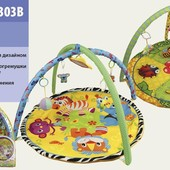 Коврик для малышей  с погремушками
