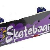 Скейт, колесо d=5cm, PVC, длина доски =60 см
