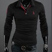 Универсальный свитшот мужской, кофта черный цвет M-XXXL код 41