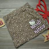 Юбка леопардовая с Китти H&M (6-7 лет)