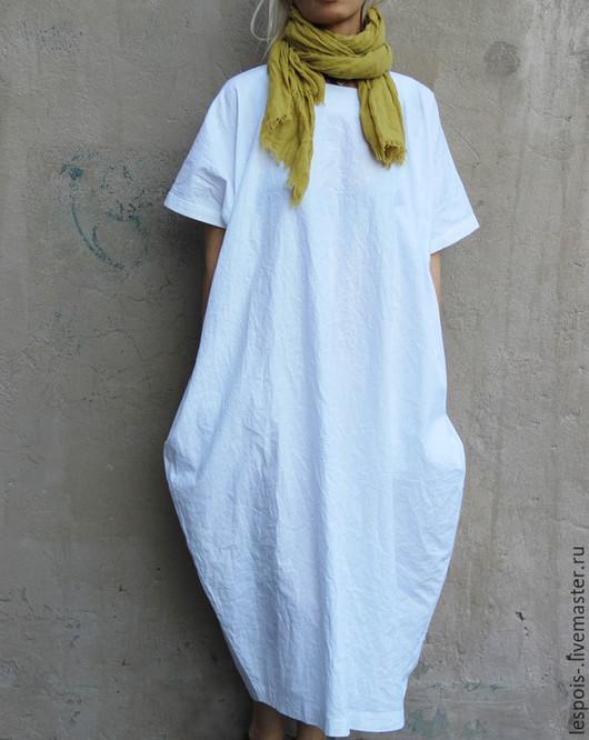 Женская льняная одежда. льняная туника, платье, различный крой и все размеры фото №1