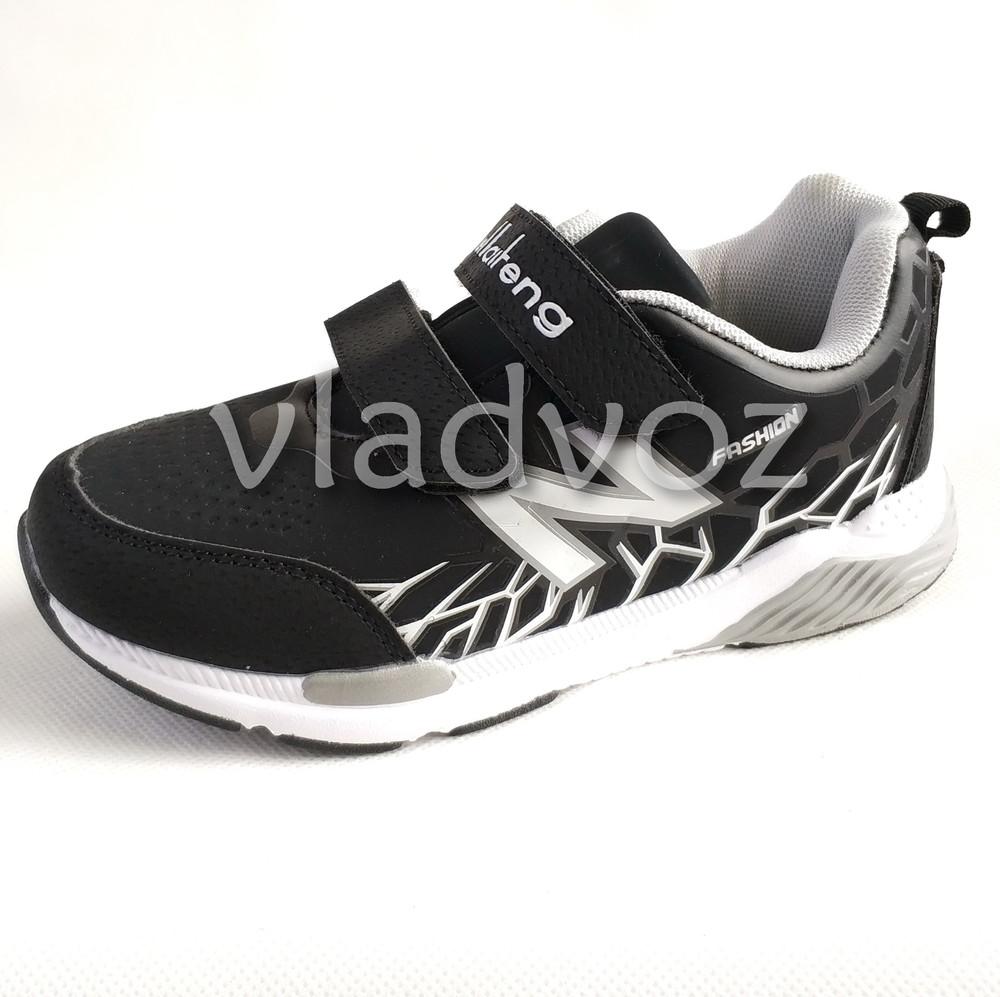 Новинка подростковые кроссовки для мальчика 32-37р. klf серые фото №2