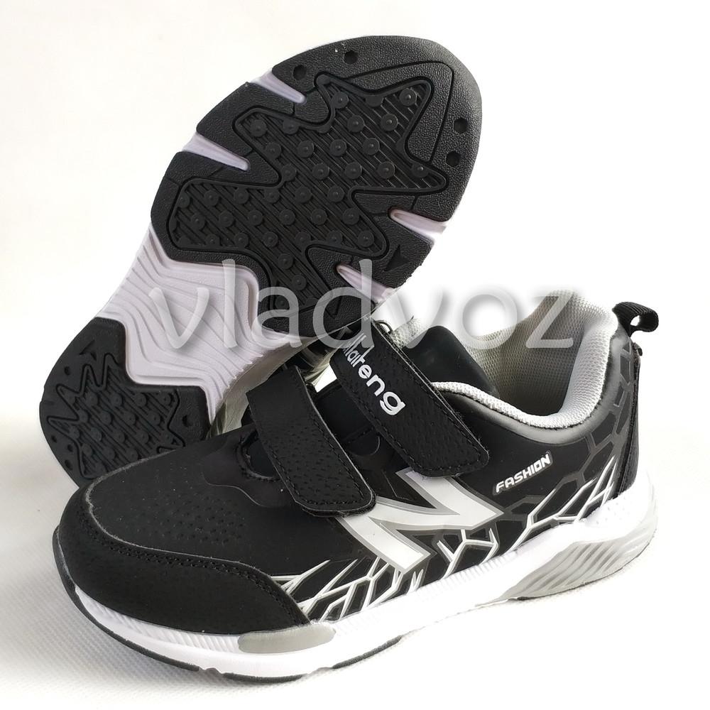 Новинка подростковые кроссовки для мальчика 32-37р. klf серые фото №3