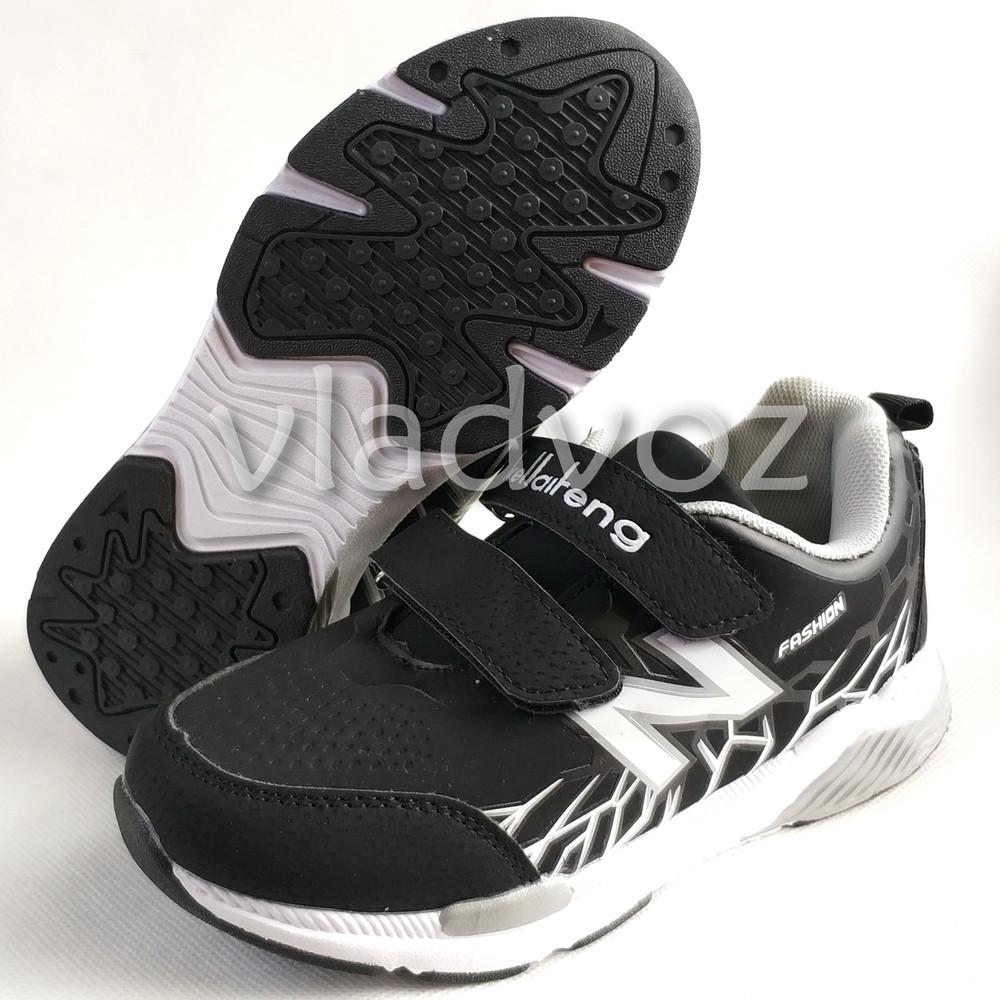 Новинка подростковые кроссовки для мальчика 32-37р. klf серые фото №4
