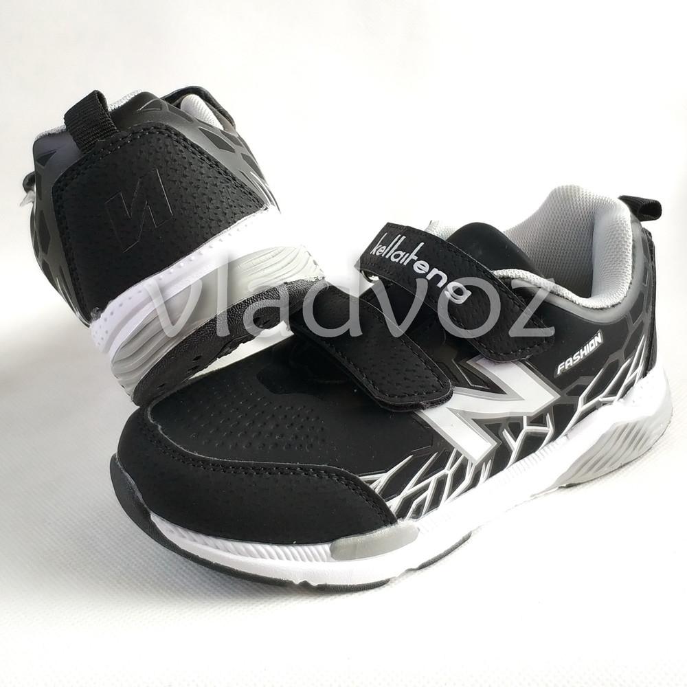 Новинка подростковые кроссовки для мальчика 32-37р. klf серые фото №5