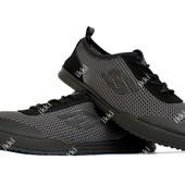 Кеды мужские летние кроссовки серого цвета (ПР-3202ср)