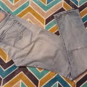 Крутые джинсы от Replay Denim, размер 31 weist, 34 length
