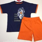 Пижама детская на мальчика Natural Club 3-4, 5-6,7-8, 10-11 лет, рост 104,116,128,146