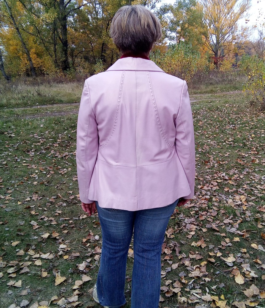 Кожаная куртка ottimo фото №3
