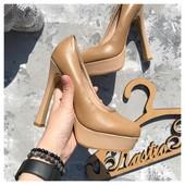 Базовые туфли в колодке YSL рр 37