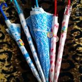 Зонтик зонт трость детский подростковый взрослый полу прозрачный для поделок или фотосеессий Разные