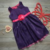Платье пышное с поясом George (1,5-2 года)
