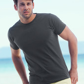 Мужская футболка приталенная Хлопок