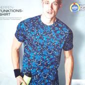 Мужская спортивная футболка размер М, 23-172 Ю