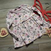 Платье туника в цветы George (1,5-2 года)