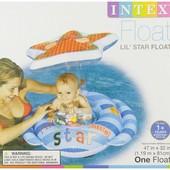 Intex 56582 119х81 см. Плотик с навесом