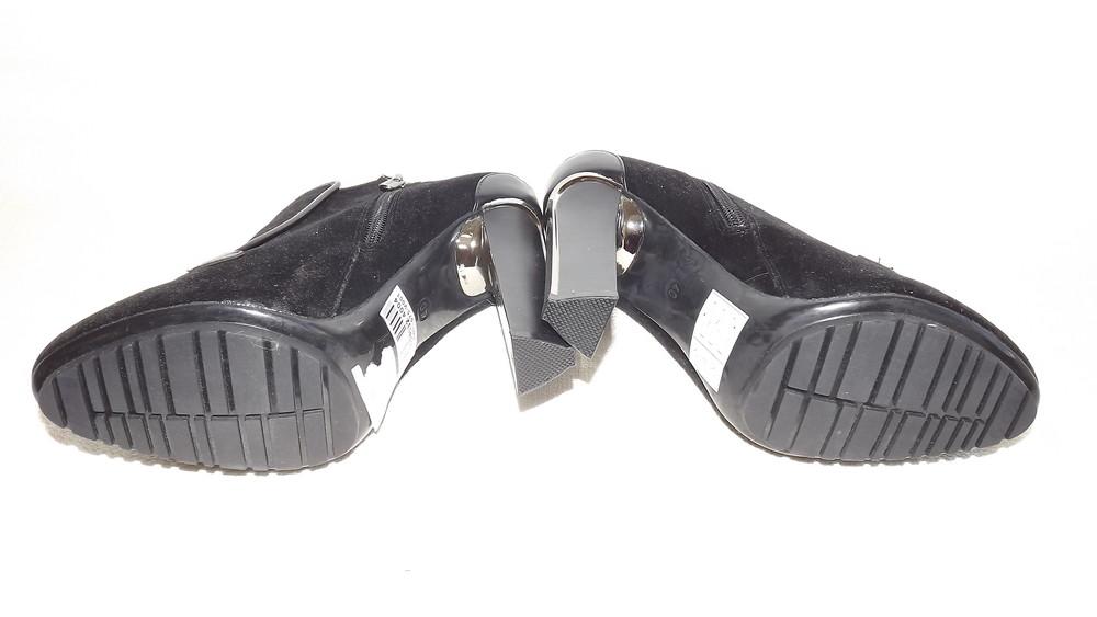 Ботильоны туфли закрытые centro 24,5 стелька фото №10