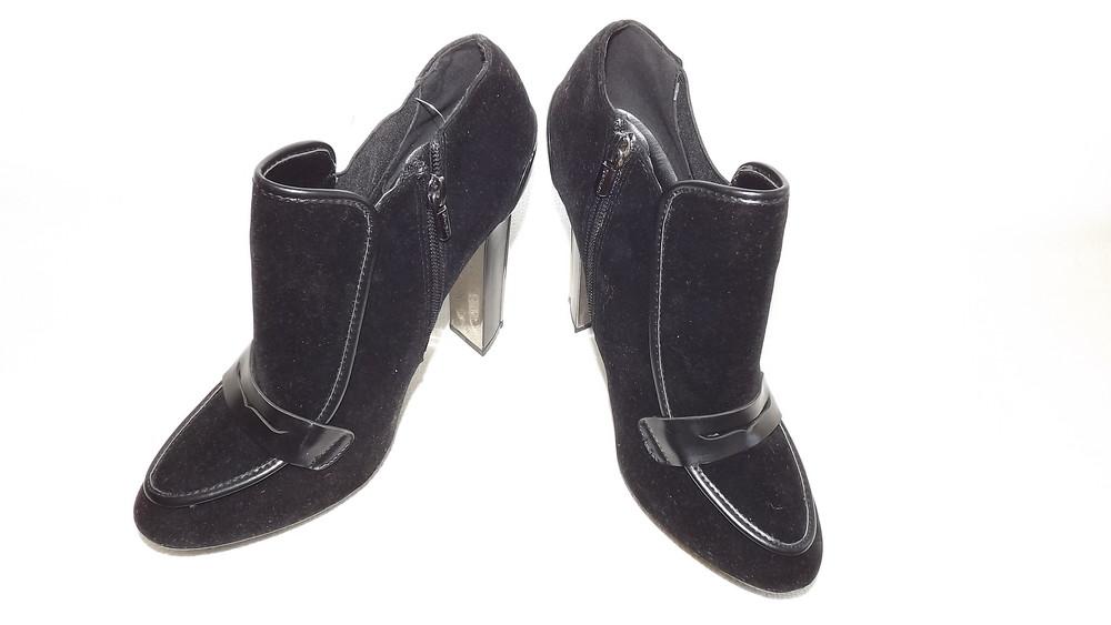 Ботильоны туфли закрытые centro 24,5 стелька фото №2