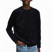 Велюровый свитер H&M 8-14 лет