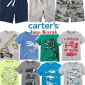 2-6лет, carters, шорты, футболки, картерс, футболка, летние, майка