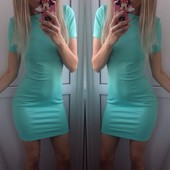 ХИТ Платье-футболка мини 40-46рр много цветов