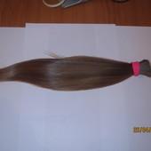 Волосы неокрашенные срез