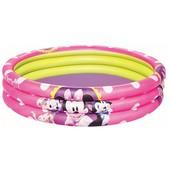 Надувной бассейн Микки Маус  на 3 кольца