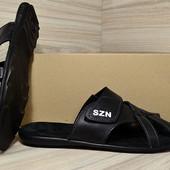 Мужские кожаные сандалии  SZN