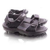 Удобные мужские сандалии черного цвета