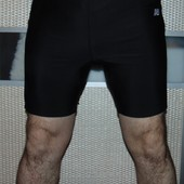 Спортивние фирменние шорти легинси трико треки тренировочние фитнес оригинал.New Balance. м-л