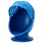 Вращающееся кресло, голубое пс Лемск ps lomsk 302.642.16 Икеа Ikea