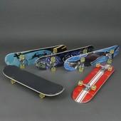 Скейт 3008 a колёса рu диаметр 5 см, китайский клен, подшипники ABEC 5, подвеска - алюминий