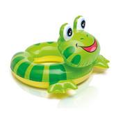 Надувной круг Животные лягушка от 3 до 6 лет