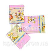 Комплект переменный 3 предмета (на резинке) Улыбка, розовый