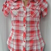 Классная рубашка в клеточку H&M. Размер S.
