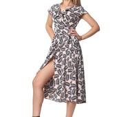 Романтичное платье с рюшами: разные цвета
