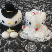 Мягкие парочка Китти жених и невеста