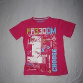 7-9 лет, р. 122-134, яркая футболка Rebel