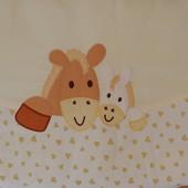 Бампер защита в кроватку Feretti