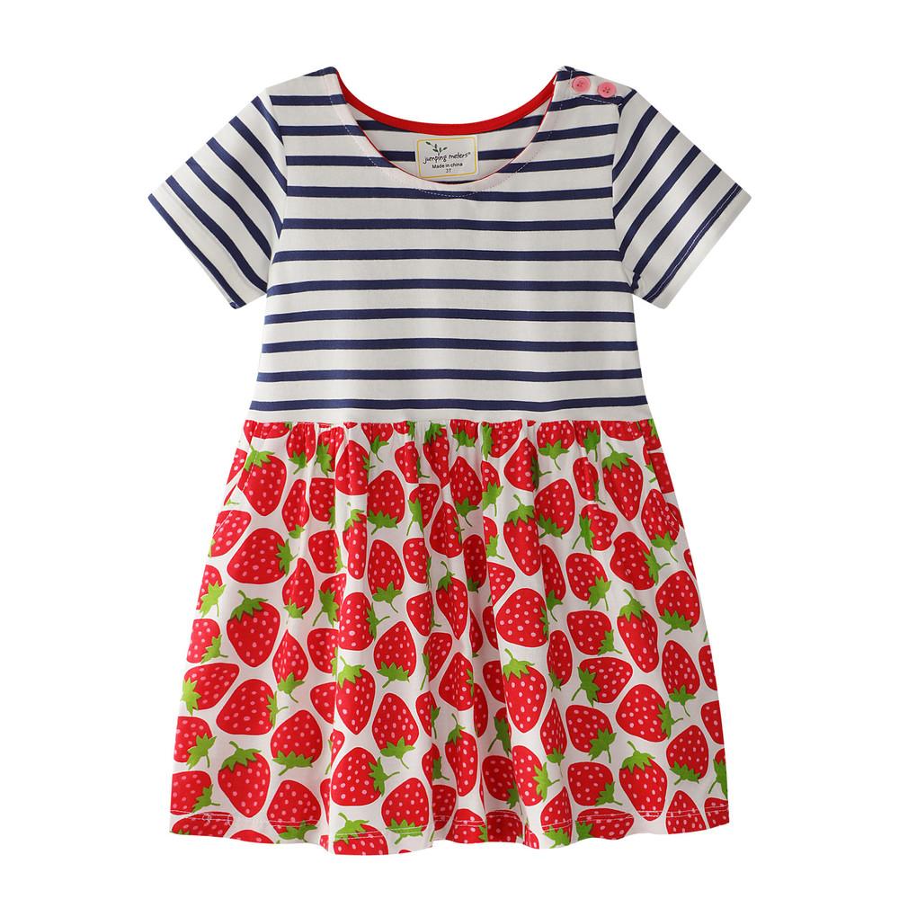 Платье strawberry 18мес-6 лет jumping meters фото №1