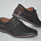 Мужские летние туфли, недорого размеры с 40-45