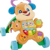 Fisher-price Ходунки толкатели щенок смейся и учись FHY95 laugh learn smart stages learn puppy walke