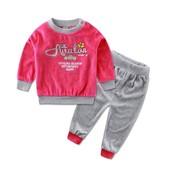 Детский велюровый костюм на девочку, 2-3 года, 2 цвета, новые