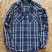 Стильная мужская рубашка фирмы Topman размер XS