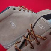 Ботинки  Polo by Ralph Lauren натур замша-оригинал 44 размер