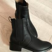 Вналичие ботинки h&m 37 на 23,5см